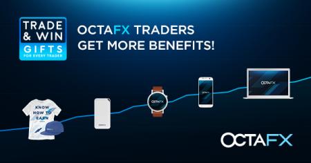 Promoção de negócios e ganhos da OctaFX - presente para comerciantes